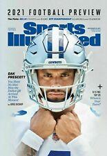 New listing Sports Illustrated September 2021 Football Preview -Dallas Cowboys Dak Prescott