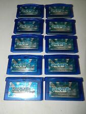 Lot of 10 Pokemon Sapphire Version Japan Game Boy Advance GBA