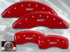 """2015 Q40 Front + Rear Red Engraved """"MGP"""" Brake Disc Caliper Covers 4pc Set"""