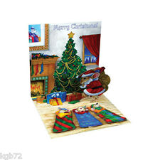 3D Quiet as a Mouse Pop Up Card Christmas by Up With Paper Treasures #935