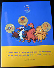 2000 Sydney Olympics $5 coins and mascots collection! OLLY  MILLIE  SYD! SCARCE!