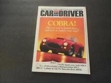 Car And Driver Dec 1991 Cobra; Corvette LT-1; Mercedes 400SE; Audi      ID:35274