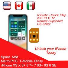5 x iDeal 2 Unlock Sim Card Turbo For iPhone X/8/7/6S/6/5S/SE LTE iOS 11.4 lot