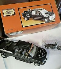 HARLEY-DAVIDSON FORD CREW CAB AND FXDX MODEL 1:24 SCALE ORIGINAL BOX / DISPLAY