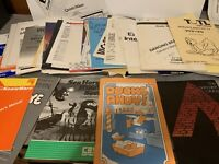 HUGE LOT OF 50+ Commodore & Vic-20 Etc GAME & SOFTWARE & HW INSTRUCTION MANUALS