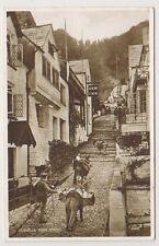 Devon postcard - Clovelly, High Street (A1178)