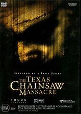 THE TEXAS CHAINSAW MASSACRE - WIDESCREEN - DVD Region 4