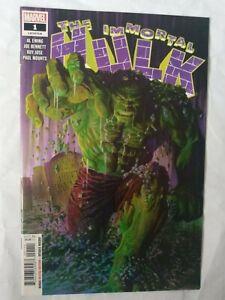 The Immortal Hulk #1 NM Al Ewing Bruce Banner Marvel Avengers