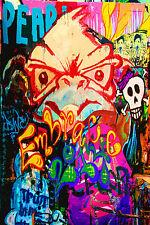 STUNNING POP ART GRAFFITI URBAN STREET ART CANVAS #742 QUALITY CANVAS A1 PICTURE
