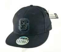 North Carolina State Wolfpack Mile High Ouray Flat Bill Snapback Adult Hat/Cap