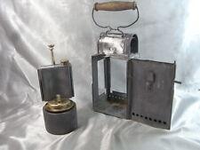 ANCIENNE LAMPE PETROLE LANTERNE CHEMIN DE FER ORLIANS MECHELEN BELGIE OIL LAMP
