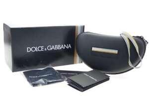 Brand New Dolce Gabbana Sport Sunglasses Eyeglasses Hard D G Case Glasses Beige