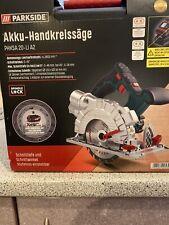 PARKSIDE PHKSA 20-Li A2 Akku-Handkreissäge  20 Volt SOLO-Gerät Säge, Ohne Akku