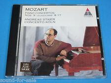Andreas Staier / Mozart: Piano Concertos Nos. 9 & 17 - CD