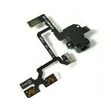 iPhone 4 Black Headphone Jack Mute Switch Volume Buttons Audio Flex Cable