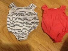 2 X Nuevo Bebé Niñas Pequeño bebé hasta 5 lb (approx. 2.27 kg) Sin Mangas Con Tachas chalecos de prensa