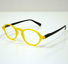 OCCHIALI GRADUATI DA LETTURA PRESBIOPIA CIRCLE GIALLO +3,50 READING GLASSES