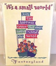 Disneys It's a Small World Magnet, NEW