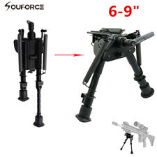 Tactical 6-9inch Harris style Rifle Gun Bipod Swivel Model w/ Built in Pod-lock