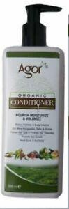 Agor Organic Hair Conditioner (Nourish Moisturize & Volumize) 500ml