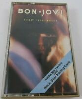 Bon Jovi 7800 Deg. Fahrenheit  Cassette Tape 1985 442 Includes Trading Card