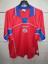 VINTAGE Maillot COSTA RICA Joma shirt jersey camiseta trikot XL World Cup 2002