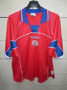 VINTAGE Maillot COSTA RICA Joma shirt jersey camiseta trikot XL World Cup 2002