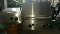 viking stainless steel outdoor grill and burner Buyer pickup only. Bradenton, Fl