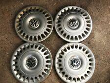 VW T4 Caravelle Transporter genuine wheel trims. x 4