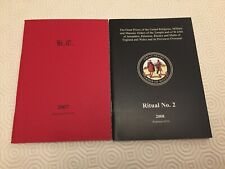 More details for masonic books: knights templar ritual no 1 or 2