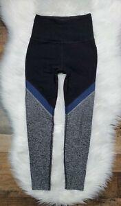 Beyond Yoga Spacedye High Waisted Leggings Women's Size Small charcoal Blue Gray