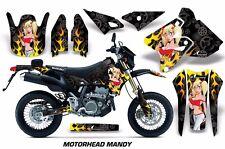 AMR Racing Suzuki Graphic Kit Bike Decal DRZ 400 SM Decal MX Part 00-15 MMANDY R