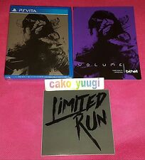 VOLUME PS VITA LIMITED RUN GAMES #28 NEUF NEW VERSION US 4800 EX + FLYERS