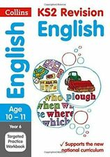 Year 6 English SATs Targeted Practice Workbook: 2018 Tests by Collins KS2...