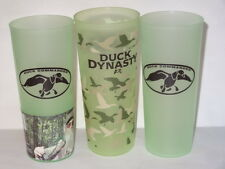 Fun lot 3 Duck Dynasty Uncle Cy Tupperware Cups 16Oz-All Different