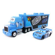Disney Pixar Car Mack No.51 Easy Idle Truck & Easy Idle Car 1:55 Toy Car New
