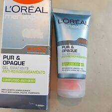 L'Oreal Men Expert Pur & Opaque Gel Idratante Uomo 50ml Anti-reingrassamento