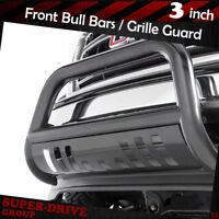 For 2011-2016 Ford F250 F350 Super Duty Stainless Steel Bull Bar Grill Guard Bumper With Skid Plate and Optional Light Holes Super Drive D02G0534