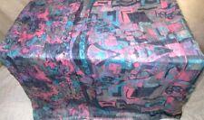 Grey Pink Pure Silk 4 yard Vintage Sari Saree Pattern Patterns Sheet US #F3XF2