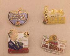 1986 1985 ROSE BOWL UCLA BRUINS IOWA HAWKEYES Firefighters Marine land Lot