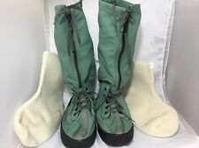 Extreme Cold Weather Boots Wellco Medium Military US Air Force Sage Green