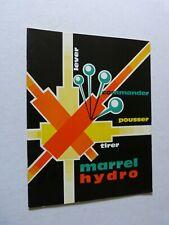 Catalogue Camion TP : BENNES MARREL HYDRO / lever commander pousser tirer / 1962