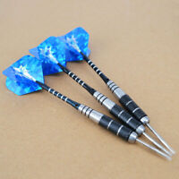 3x 4.5*3.5cm Tungsten Steel Needle Tip .Darts With 3 DART Flights Best