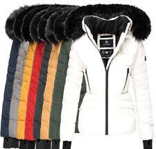 Navahoo Damen Warm Winter Jacke Parka Winter mantel Steppjacke gefüttert  ADELE