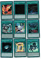 9 Varios Cartas Mágicas De yu-gi-oh Destiny SOLDIERS