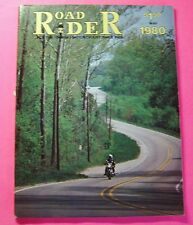 ROAD RIDER  MAGAZINE MAY/1980...HARLEY-DAVIDSON TOUR GUIDE...CHEROKEE COUNTRY