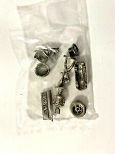 Vintage 1997 NASCAR Edition Monopoly Replacement Pewter Mover Tokens - Sealed