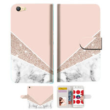 Marble Shape Stone Wallet TPU Case Cover For OPPO A57 Phone Case -- A032