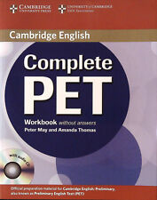 Cambridge COMPLETE PET Workbook with Audio CD, without Answers @NEW@