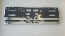 2 porte plaque d'immatriculation Mercedes AMG chrome w210,w211,w208,w209,w164,